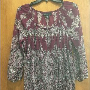 Inc women's blouse